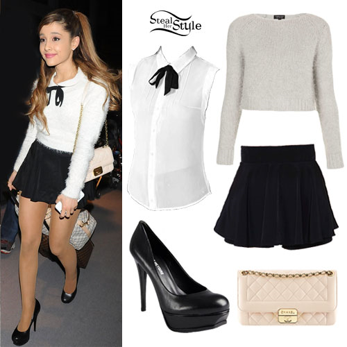 steal her style ariana grande leaving a little sparkle