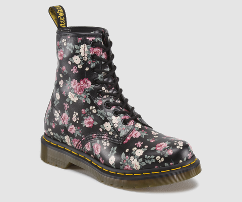 Dr. Martens Vintage Rosy Softy Low Lace Boots  ($130)