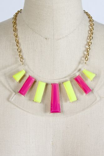 Sway Chic 'Neon Flux Statement Necklace' ($16)