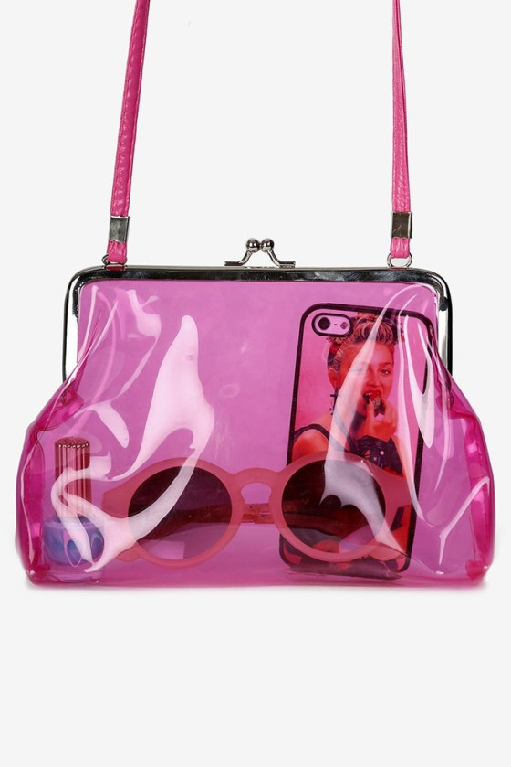 Sway Chic 'Jelly Bag-Baby Spice' ($32)